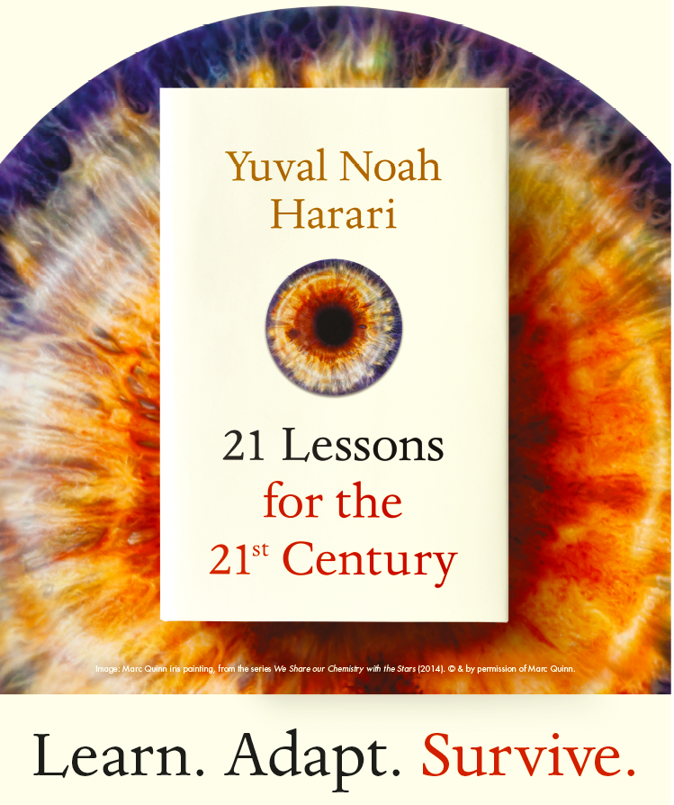 marc quinn x yuval noah harari 21 lessons for the 21st century